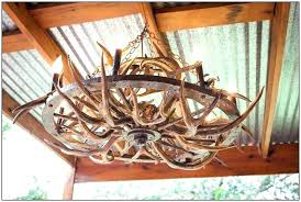 deer horn chandeliers deer antler ideas wagon wheel antler chandelier deer antler chandelier kit and home