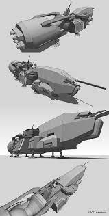 Ftl Ship Designs Aliens Colonial Marines Lorin Wood Design