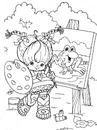 Small Picture 217 best Crafty 80s Rainbow Brite Coloring images on Pinterest