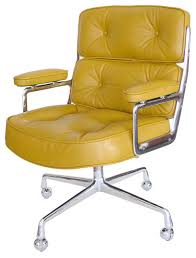 modern office chairs mid century modern office chair amazing yellow office chair