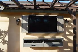 patio tv stand