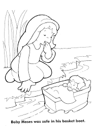Small Picture free printable baby moses coloring pages free printable ba moses