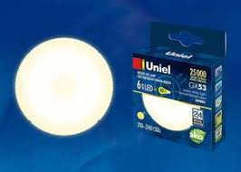 "<b>Uniel</b> люстры и светильники в Москве Коллекция ""<b>LED</b>-<b>GX53</b> ..."