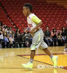 lebron james son playing basketball at home.  Son James5 Throughout Lebron James Son Playing Basketball At Home