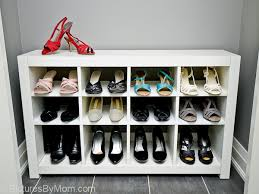 The Ikea Expedit Cubbies Are A Little Too Deep And Tall For Shoes Ikea Closet Organizer Shoes