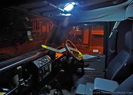 Defender Courtesy Light Switch Land Rover Defender Led Upgrades Sirocco Overland