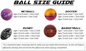 Ball Size Guide