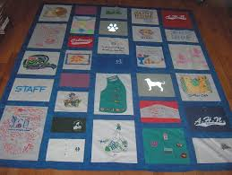 Making a quilt out of T-shirts - How to make a Tee Shirt quilt ... & Making a quilt out of T-shirts - How to make a Tee Shirt quilt Adamdwight.com
