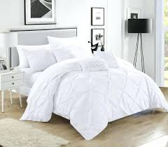 chic bedding chic home piece comforter set pinch pleated ruffled bed in a bag white boho chic bedding chic chic comforters sets