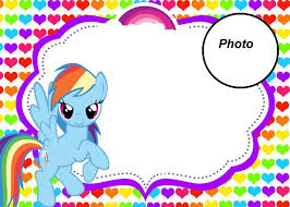 Small Picture Best 25 My little pony invitations ideas on Pinterest Little