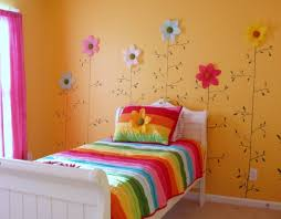 paint colors for kids bedrooms. Kids Room Large-size Orange Bedroom Wall Paint Color Background Decorated With Flower Colors For Bedrooms S