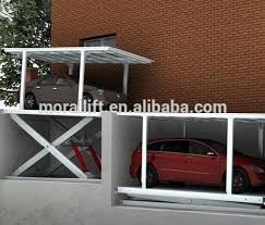 hydraulic garage mechanical underground garage cost