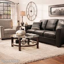 catchy black leather sofa living room design 17 best ideas about black leather couches on small
