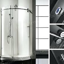 frameless roller shower door 1 frameless shower