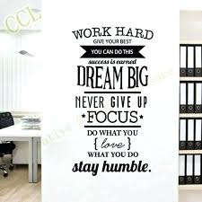 Inspirational office decor Typography Wall Inspirational Office Decor Inspirational Office Decor Best Ideas Of Inspirational Wall Decals For Office Decor Image Inspirational Office Decor Design How To Design Room Inspirational Office Decor Work Office Decorating Ideas Designer