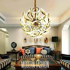 large size crystal ball chandelier