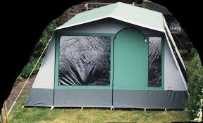 Cabanon Estelle E425 6 berth canvas frame tent.