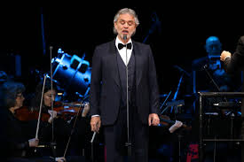 csuf university singers perform with andrea bocelli