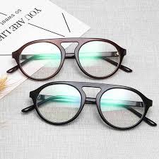 <b>Vintage Retro Round</b> Eyeglasses <b>Brand</b> Designer For Women ...