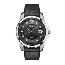 seiko men s watches for jewelry watches jcpenney seiko mens black strap watch sne427