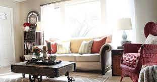 small living room after blissful bee blog