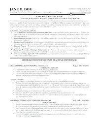 Resume Samples Creative Professionals Best Template For It
