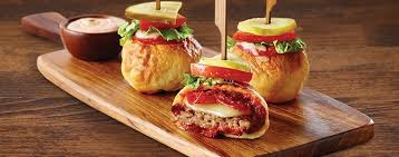 news boston s pizza introduces new pizzaburger sliders
