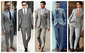 GREY SUIT SHOES