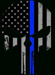 thin blue line hd wallpaper posted by
