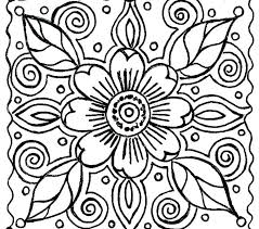 Flower Color Sheets Free Printable Flower Coloring Pages Color