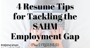 4 Resume Tips For Tackling The Sahm Employment Gap Title 560x300 Png