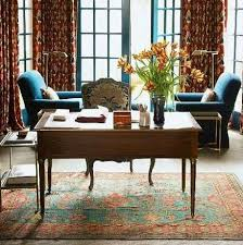 rug for office. Rugs In Work Spaces - Home Library With Oriental Rug From Of Clover Magazines Chesie For Office O