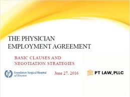Presentations | Houston Physician Contract Lawyer