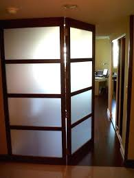 large interior swinging door with frosted glass doors single swinging interior door french