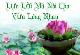 Image result for Hãy Nói Lời Dịu Ngọt