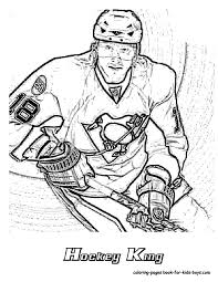 Small Picture Coloring Pages Nhl Worksheets For Kids Nhl Coloring Pages Nhl