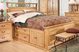 Bedroom: Captains Bed King For Elegant Master Bedroom Furniture ...