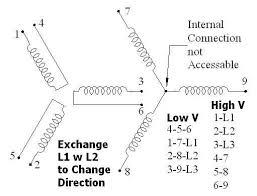 wiring diagram reversible single phase motor wiring diagram 6 lead single phase motor wiring diagram at Motor Wiring Diagram