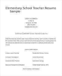 Resume Samples For Teacher Teacher Resume 9 Free Sample Example Format Free Premium