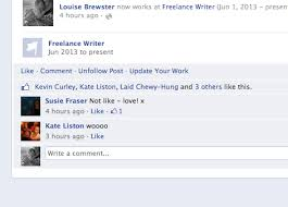 is writer already on your fb profile manuscrapped the emerging writer