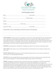 Photography Contracts 13 Printable Photography Contract Pdf Forms And Templates