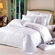 white cotton flat satin stripe bed sheets white bed sheets f48 white