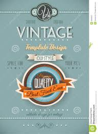 vintage retro page template for a variety of purposes royalty vintage retro page template for a variety of purposes