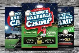 Free Baseball Flyer Template Free Baseball Flyer Template Download Flyers In Tryout
