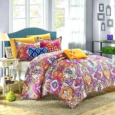 boho comforter sets twin xl unique teal and grey elegant com best of set style awesome
