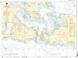 Noaa Print On Demand Chart St Marys River Detour Passage To Munuscong Lake Detour Passage 36th Edition Model 14882