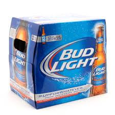 12 Pack Bud Light Bottles Bud Light 12 Pack 12oz Bottles