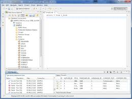 database tools java sql and jooq screenshots ordered by database alphabetically