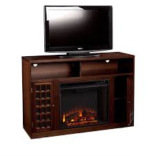 highlights of sei narita media console electric fireplace