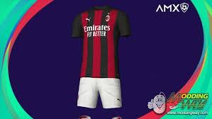 75' tweede helft, minuut 75. Ac Milan 20 21 Home Kit Pro Evolution Soccer 2020 At Moddingway